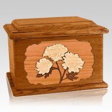 Mums Mahogany Memory Chest Cremation Urn