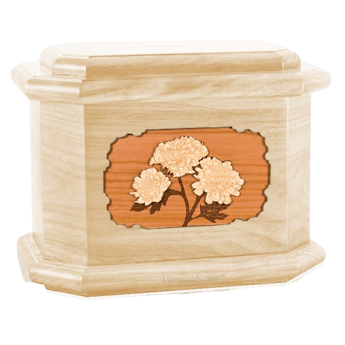 Mums Maple Octagon Cremation Urn