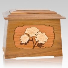 Mums Oak Aristocrat Cremation Urn
