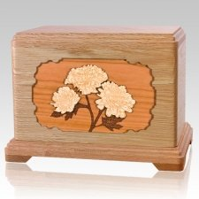 Mums Oak Hampton Cremation Urn