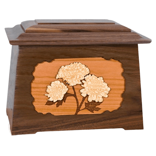 Mums Walnut Aristocrat Cremation Urn