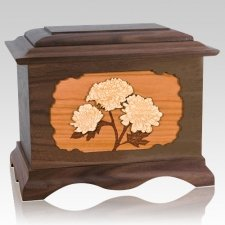Mums Walnut Cremation Urn