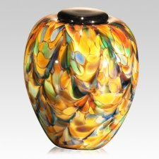 Mundo Glass Companion Cremation Urn