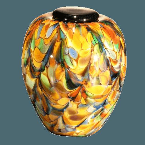 Mundo Glass Companion Cremation Urn