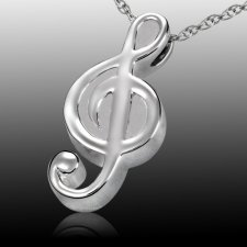 Music Cremation Pendant