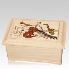 Music Cremation Urn