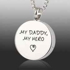 My Daddy Cremation Necklace