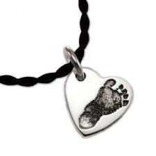 My Heart Silver Print Keepsake