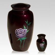 Mystic Rose Cremation Urns