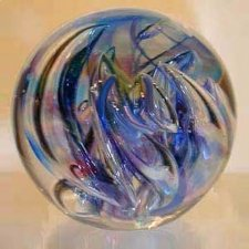 Mystical Ash Glass Weight
