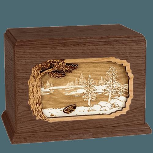 New Lake Walnut Companion Urn