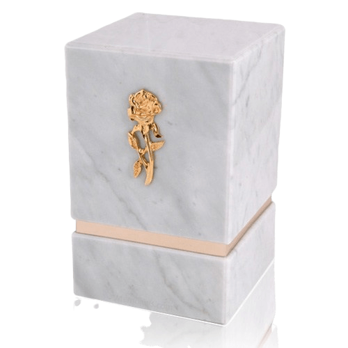 La Nostra Bianco Marble Urn
