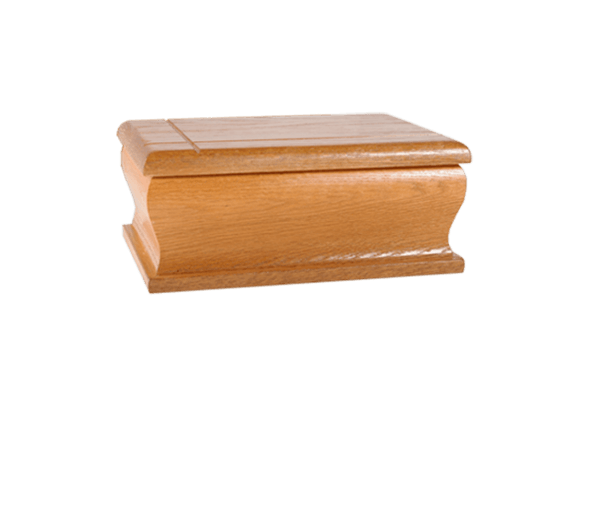 Natural Chestnut Book Cremation Urn