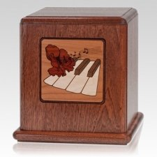 Natures Music Wood Cremation Urn