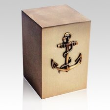 Nautical Bronze Cremation Urn