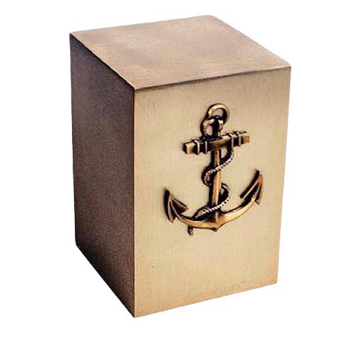 Nautical Bronze Cremation Urn