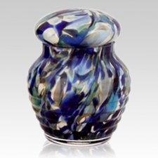 Nautical Glass Pet Urn