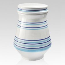 Nautico Ceramic Cremation Urn