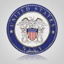 Navy Insignia Medallion Appliques