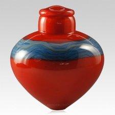 Nebulae Glass Cremation Urn