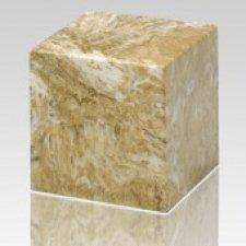 Neptune Cube Keepsake Cremation Urn