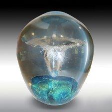 Neutron Geyser Glass Cremation Keepsakes