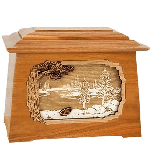 New Lake Mahogany Aristocrat Cremation Urn
