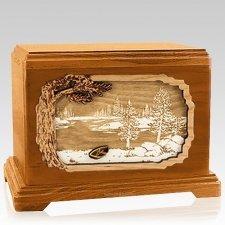New Lake Mahogany Hampton Cremation Urn
