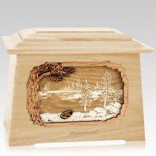 New Lake Maple Aristocrat Cremation Urn