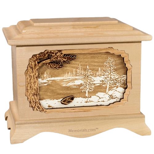 New Lake Maple Cremation Urn