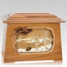 New Lake Oak Aristocrat Cremation Urn