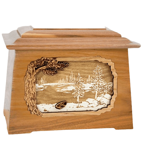 New Lake Oak Aristocrat Cremation Urn