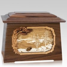 New Lake Walnut Aristocrat Cremation Urn