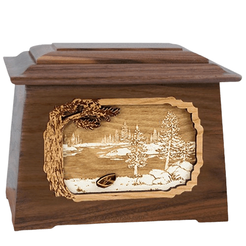 New Lake Walnut Aristocrat Cremation Urn