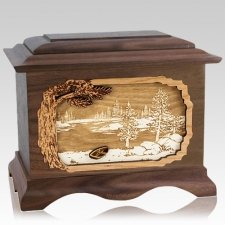New Lake Wood Cremation Urns