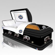 New York Mets Casket