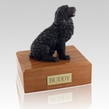 Newfoundland Black X Large Dog Urn