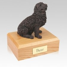 Newfoundland Bronze Large Dog Urn