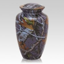 Night Camo Cremation Urns