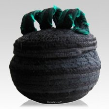Night Cotton Keepsake Cremation Urn