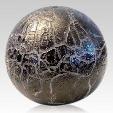 Night Orb Glass Pet Urn
