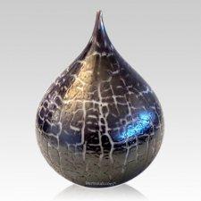 Night Tear Glass Pet Urn