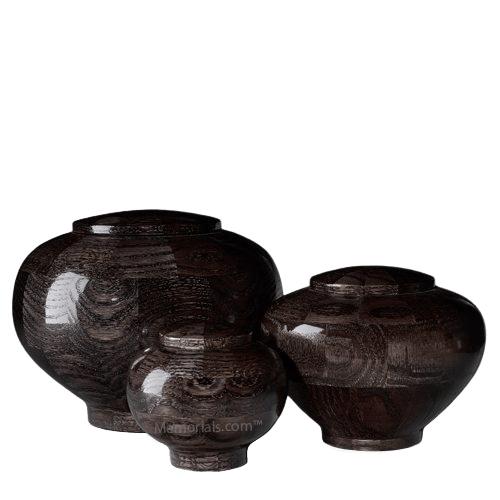 Noir Wood Cremation Urns