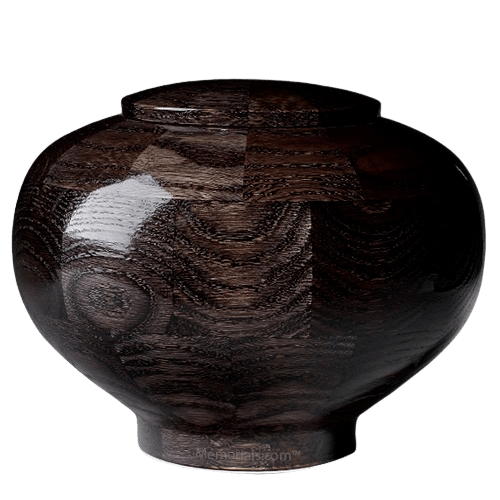 Noir Wood Urn