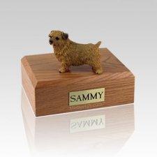 Norfolk Terrier Medium Dog Urn