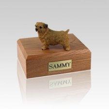 Norfolk Terrier Small Dog Urn