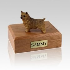Norwich Terrier Large Dog Urn
