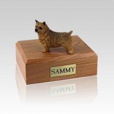 Norwich Terrier Medium Dog Urn