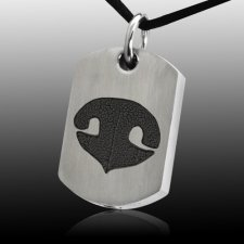 Nose Tag Stainless Print Cremation Keepsakes