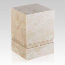 Notre Perlato Stone Pet Urn